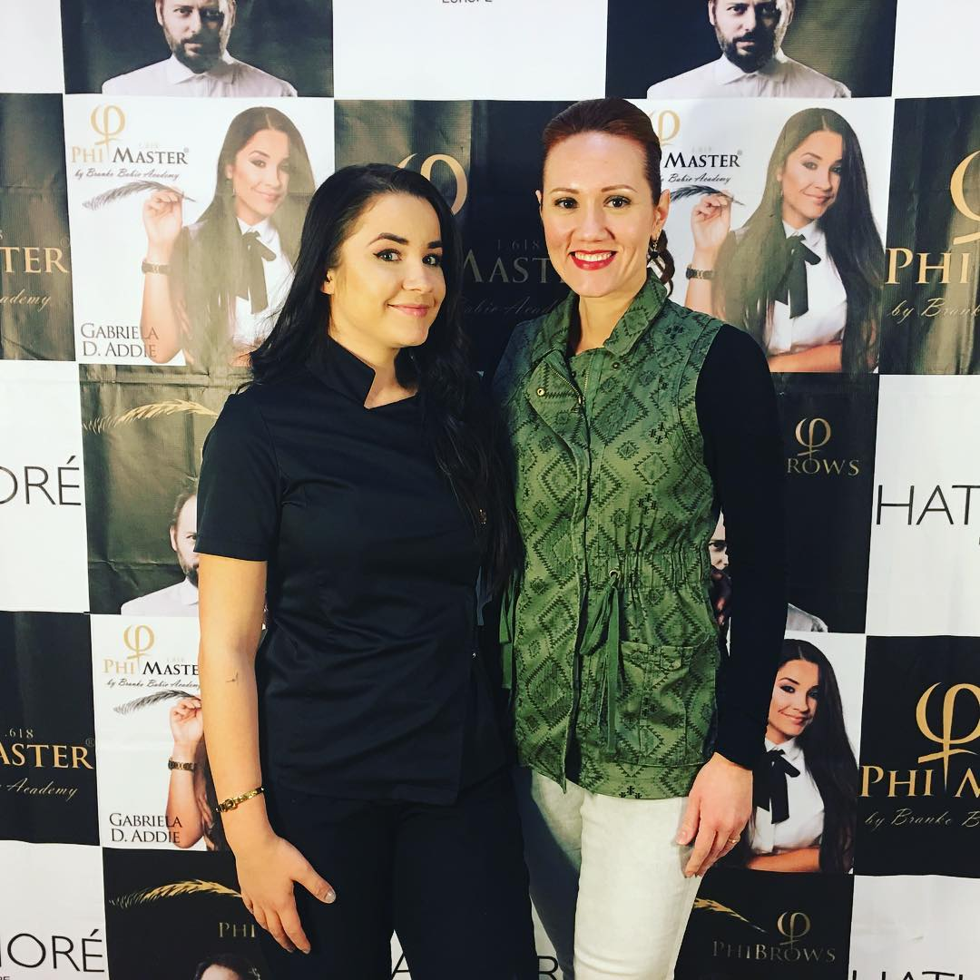 Alesya with PhiBrows Master