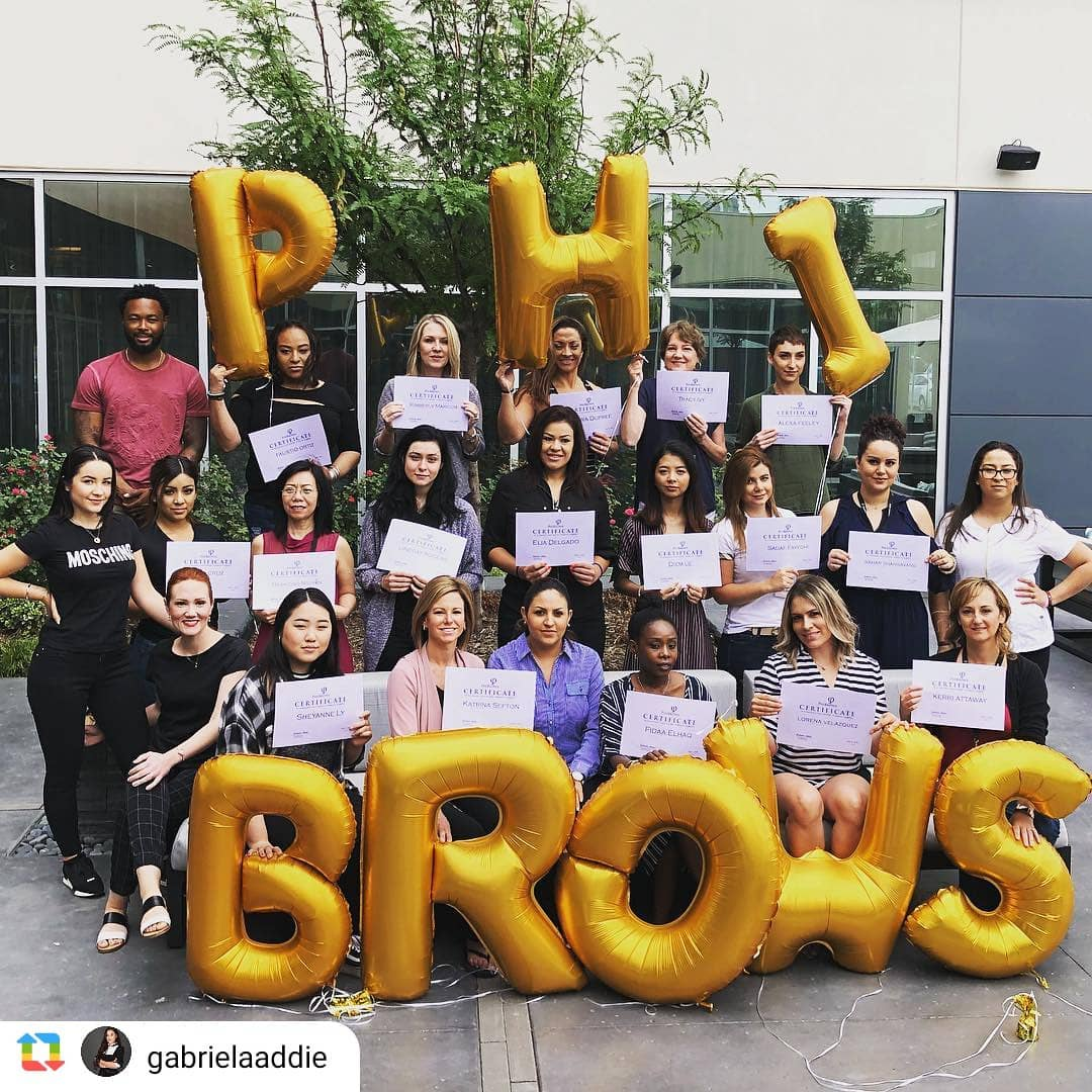 PhiBrows students