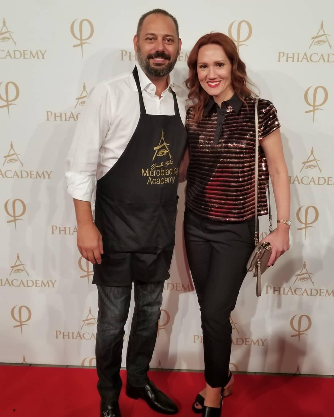 Alesya with Branko Babic - PhiAcademy