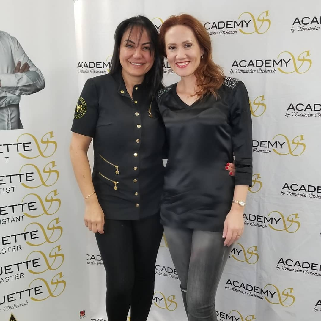 Alesya Mulholland with AcademyS Grand Master