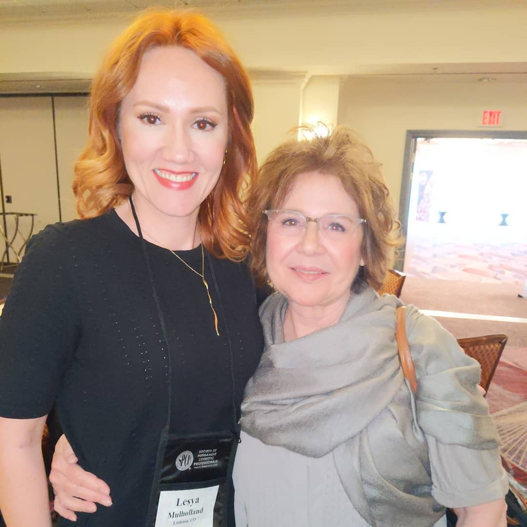 Alesya with Majorie Grimm