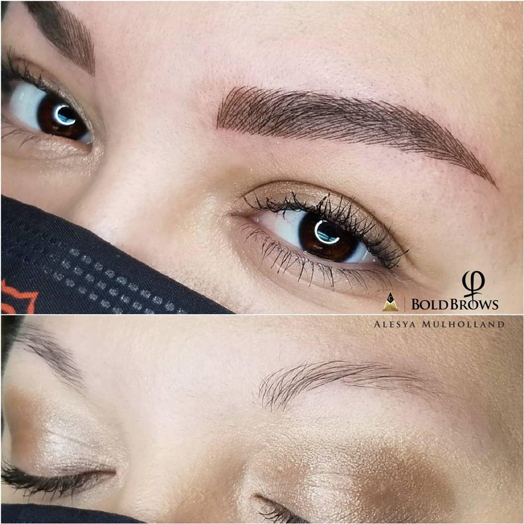 Microblading Eyebrows Permanent Makeup