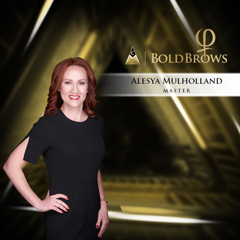 Alesya Mulholland Bold Brows Master Microblading Trainer
