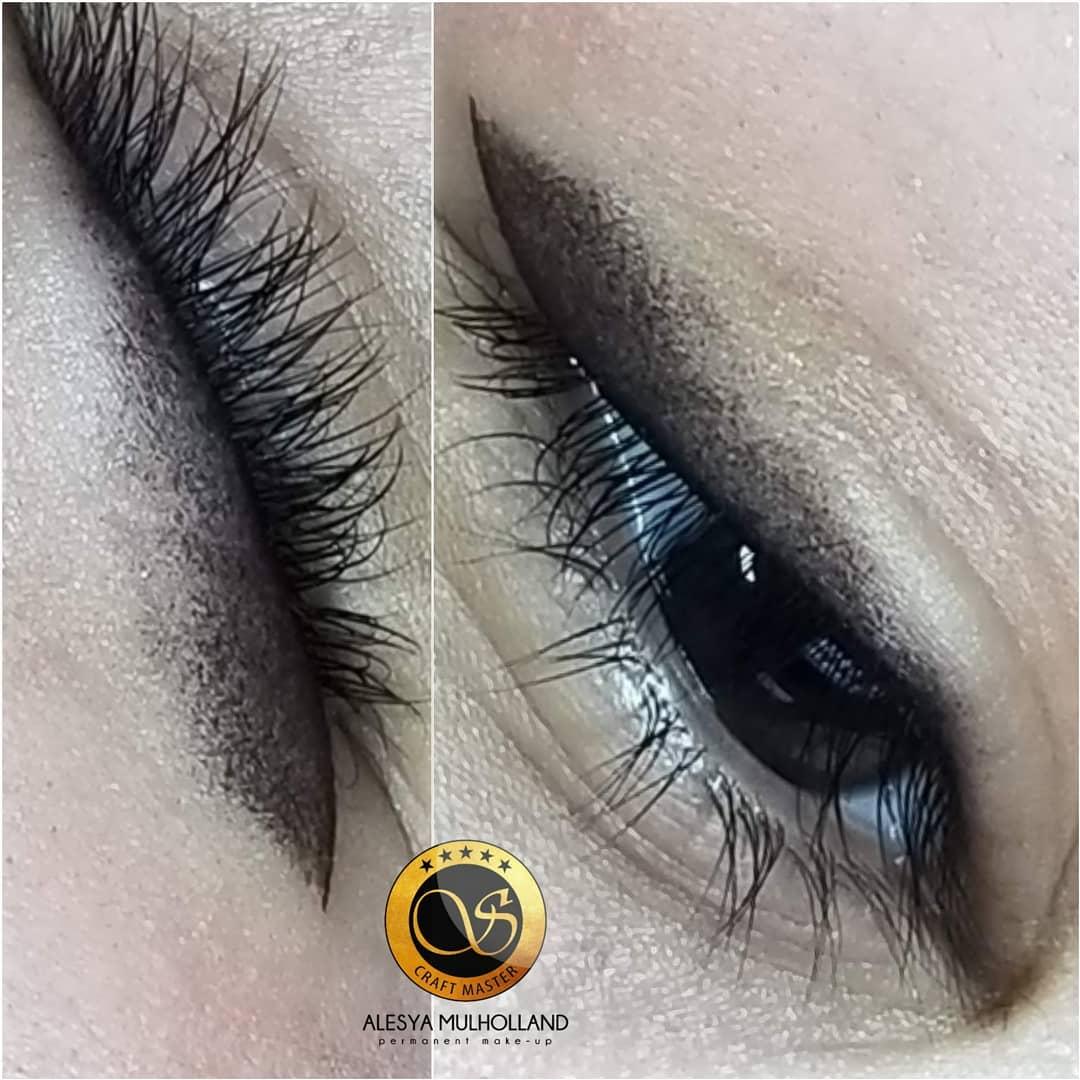 Permanent Makeup Shaded Eyeliner